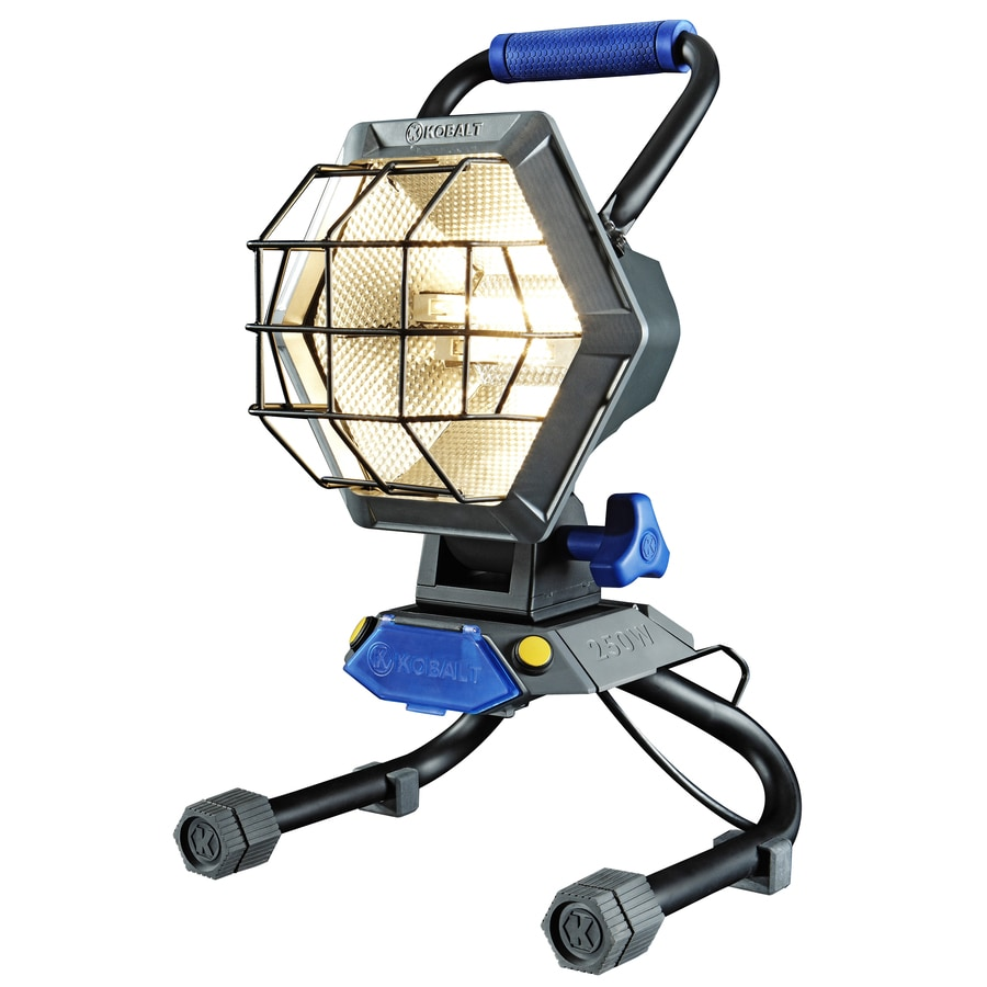 Kobalt 750-Watt Halogen Work Light