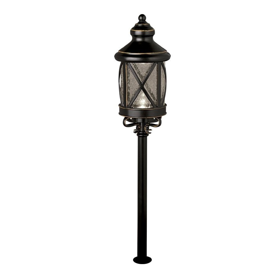 Shop allen + roth 4-Light Oil-Rubbed Bronze Low-Voltage LED Path ...