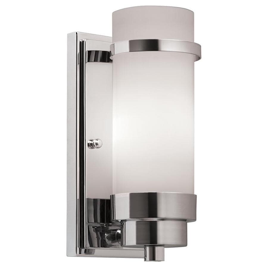 Portfolio 4.25-in W 1-Light Chrome Arm Wall Sconce