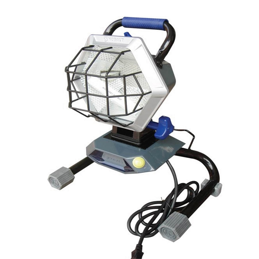 Craftsman 500 Watt Halogen Worklight: Kobalt 500-Watt Halogen Portable Work Light At Lowes.com