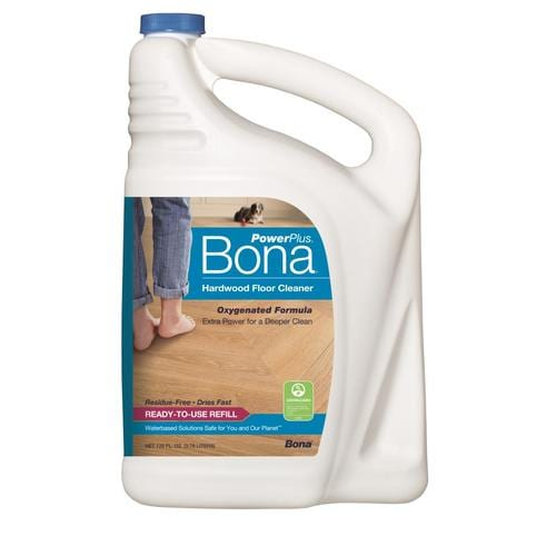 Bona Powerplus 128 Oz Pour Bottle Liquid Floor Cleaner At