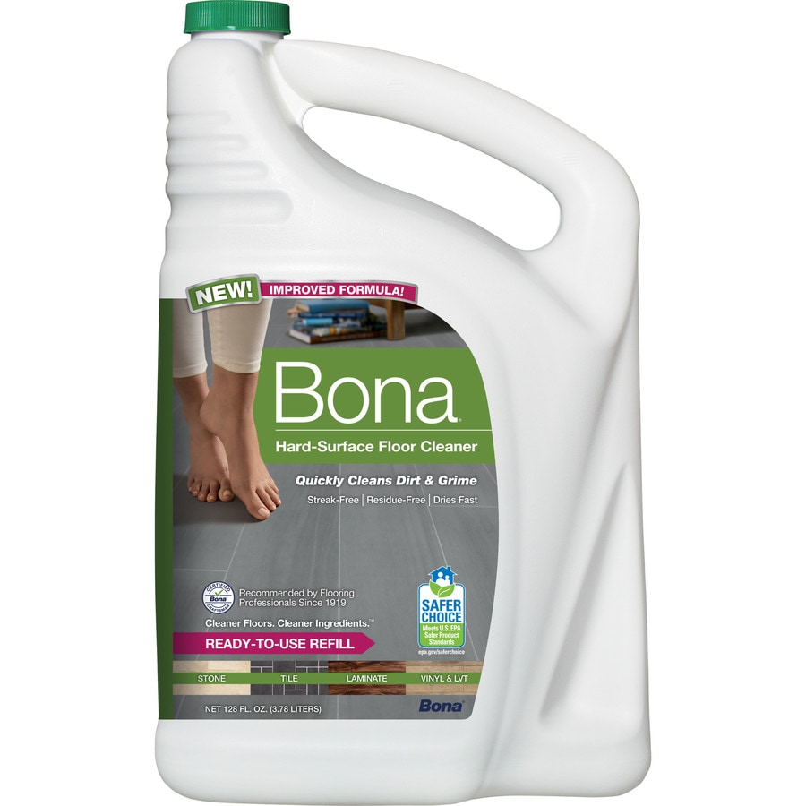 Shop Bona 128 Fl Oz Stone Floor Cleaner At Lowes Com