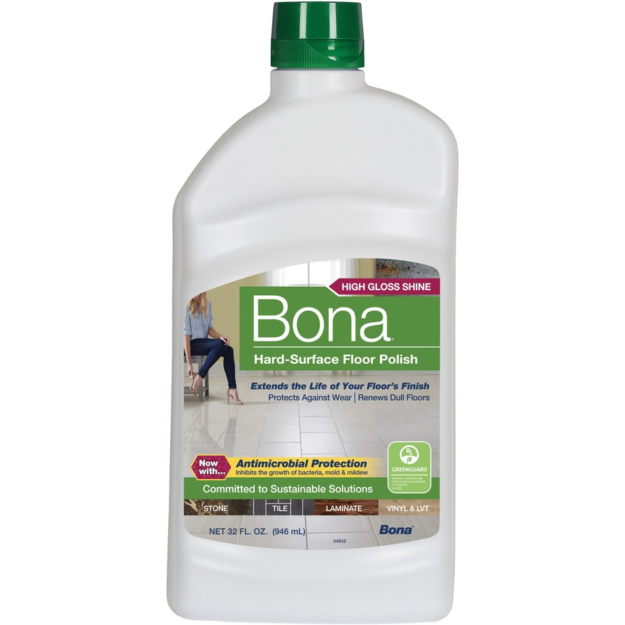 Shop bona 32 fl oz floor polish at for Flooring products