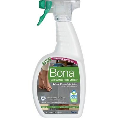 Bona 32 Fl Oz Stone Floor Cleaner At Lowes Com