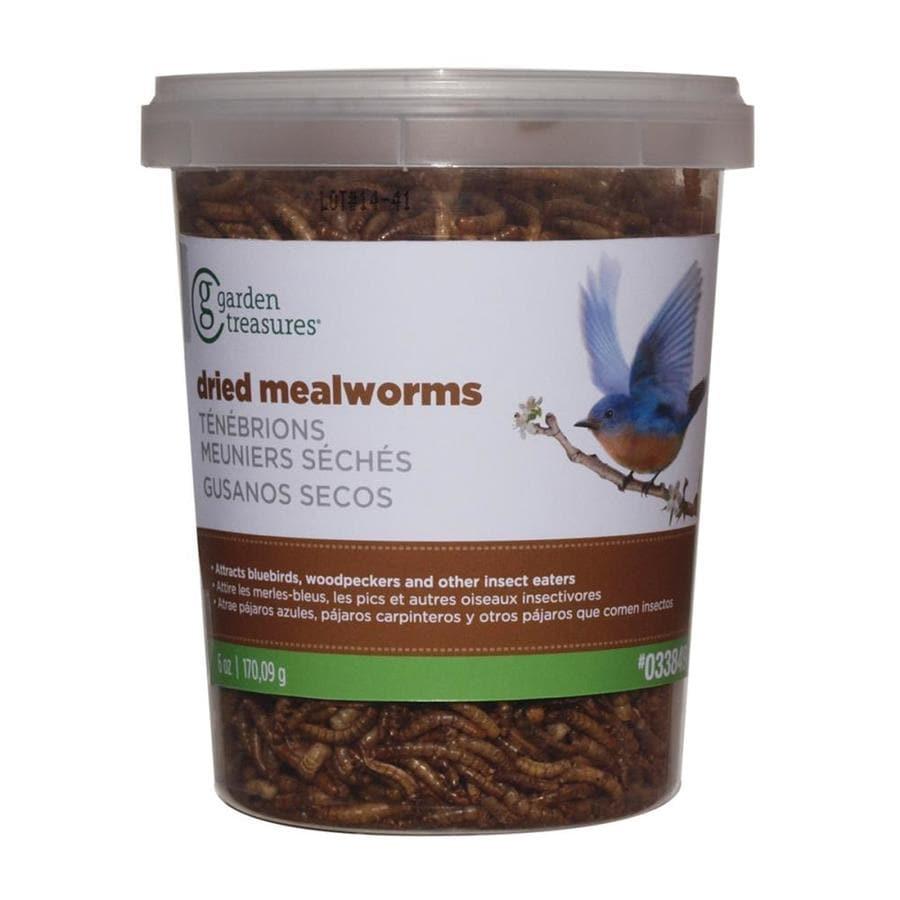 Garden Treasures Mealworms 0.4-lb Wild Bird Food
