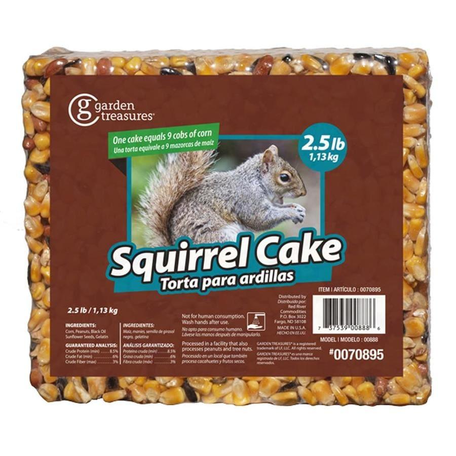 Garden Treasures 2.5-lb Squirrels Corn And Seed Cake