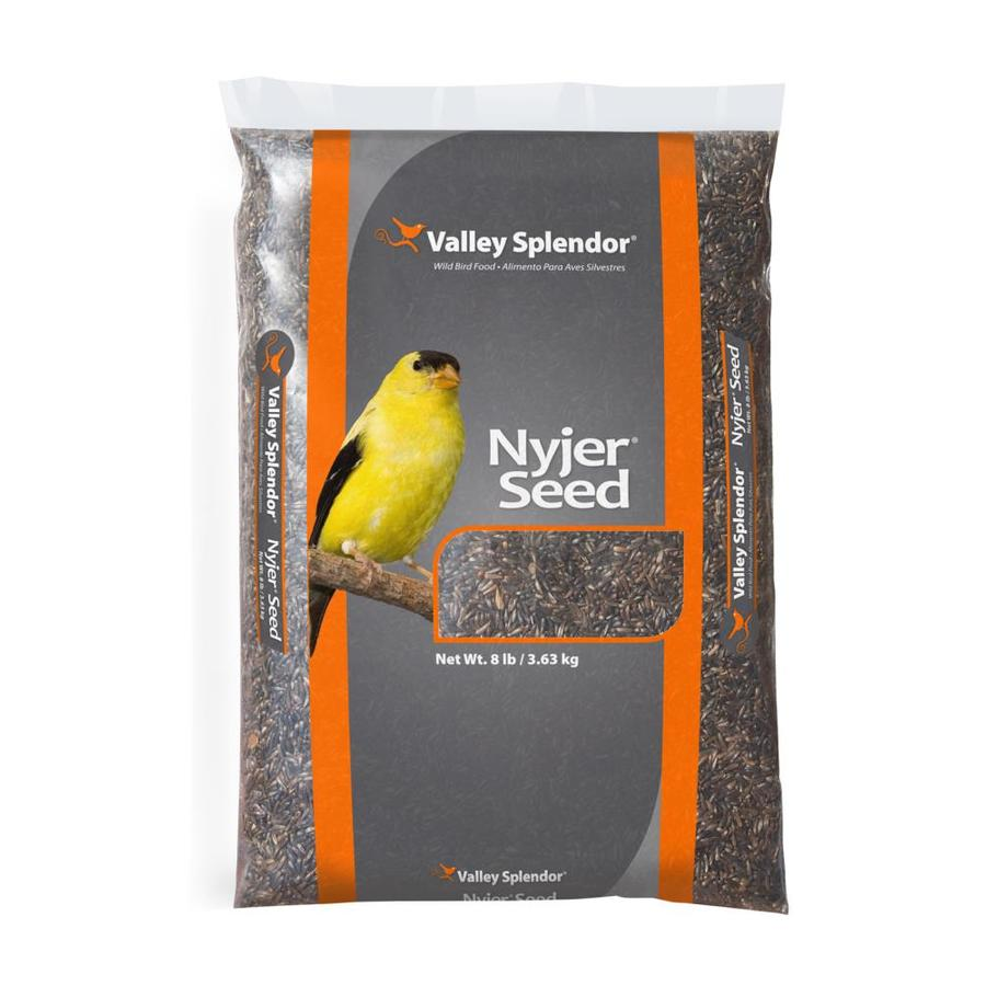 Valley Splendor Nyjer Seed 8-lb Bird Seed Bag (Thistle Seed)