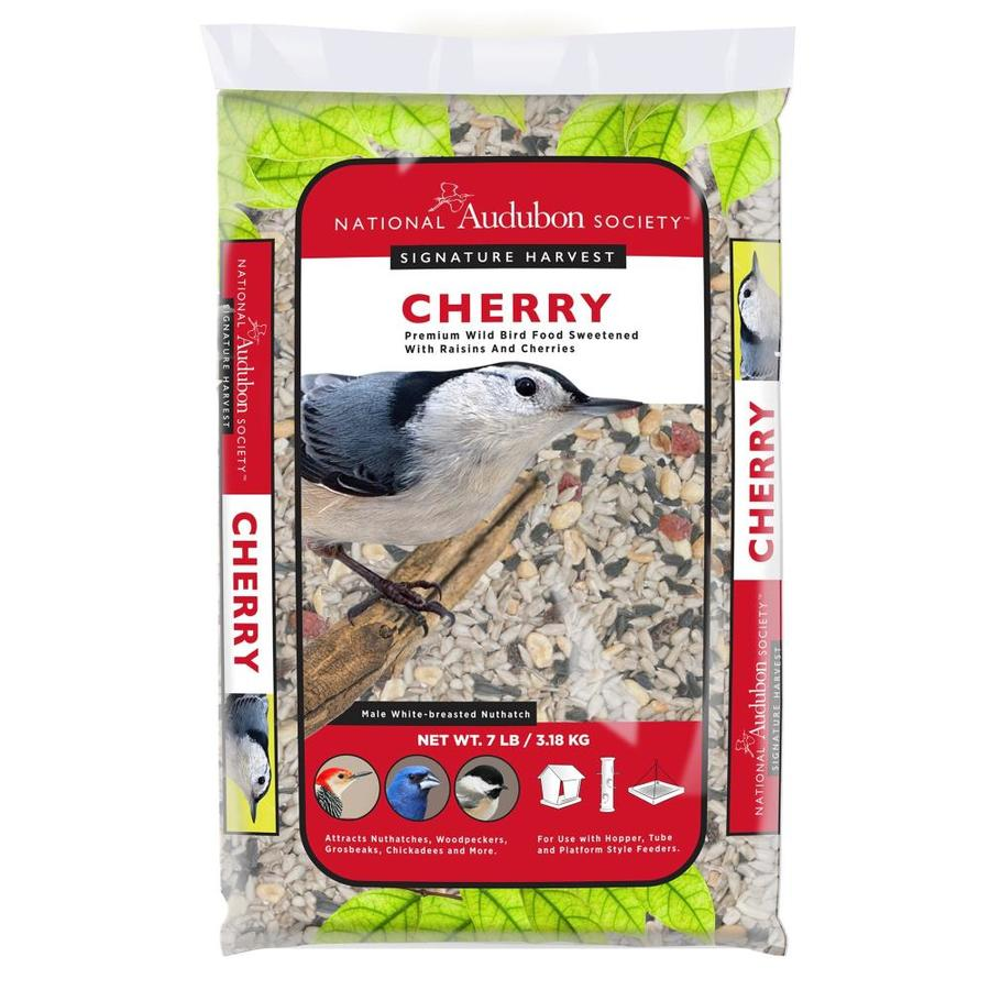 National Audubon Society Signiture Harvest Cherry Wild 7-lb Bird Seed Bag (Nut and Fruit)