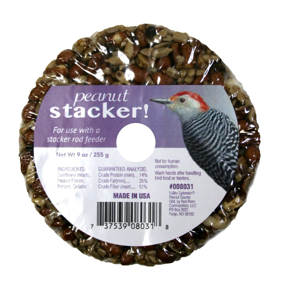 Valley Splendor Nutty Stacker 0.5625-lb Bird Seed Cake (Seed and Nut)
