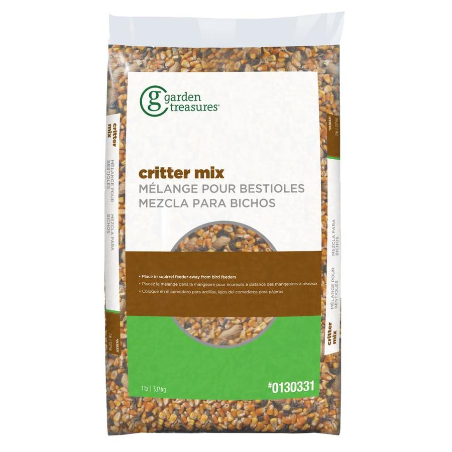 Garden Treasures Critter Food 7-lb Squirrel Seed and Nut Blend