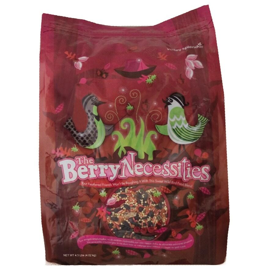 Valley Splendor Berry Necessities 5-lb Bird Seed Bag (Nut and Fruit)