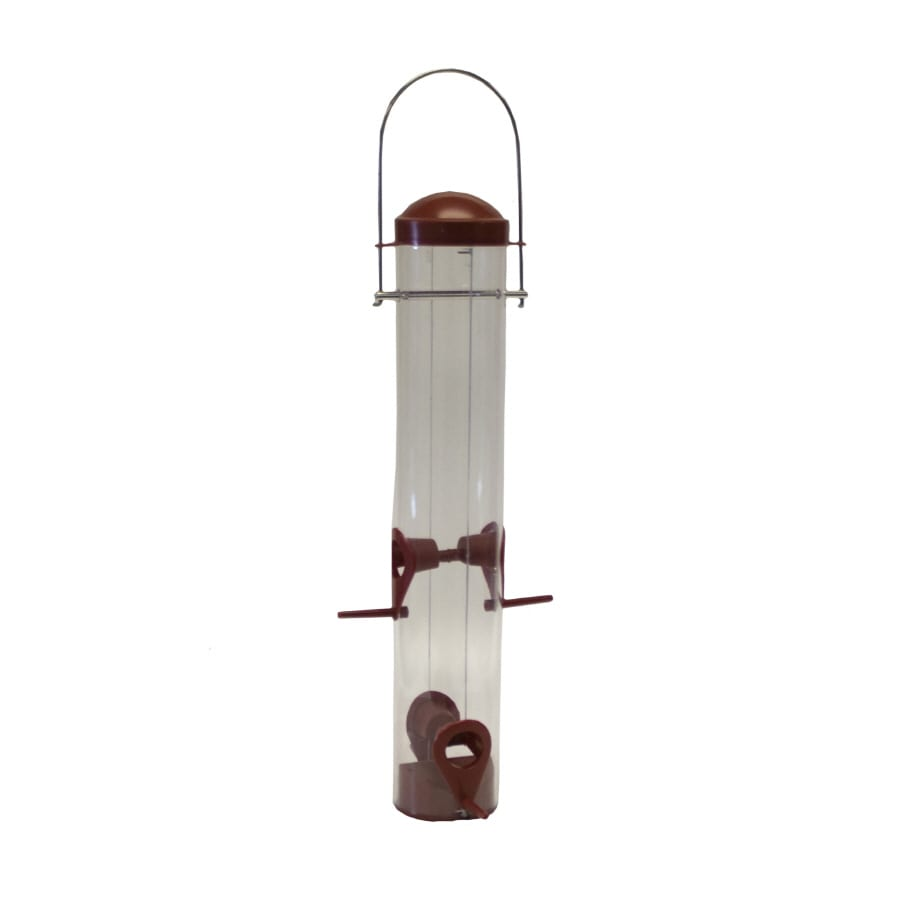 Garden Treasures Plastic Tube Bird Feeder