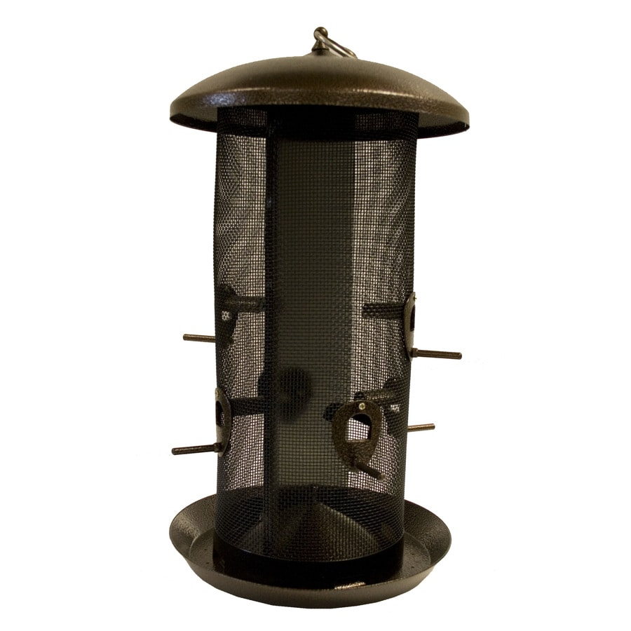 Garden Treasures Metal Tube Bird Feeder
