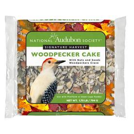 National Audubon Society 1.75-lb Signature Harvest Woodpecker Seed Cake