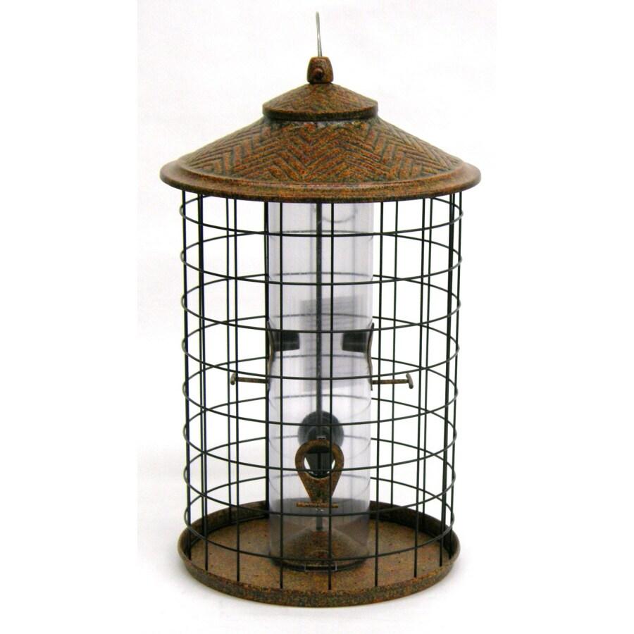 Perfect Garden Treasures Metal Squirrel Resistant Tube Bird Feeder