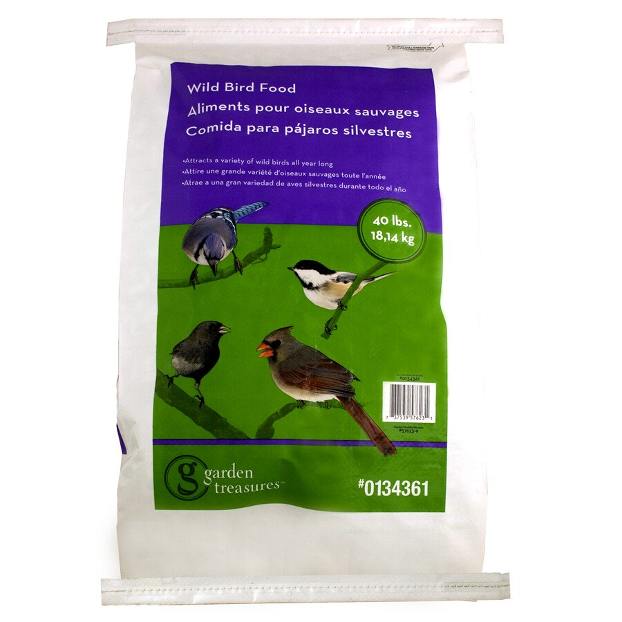 Garden Treasures 40-lb Bird Seed Bag (Millet)