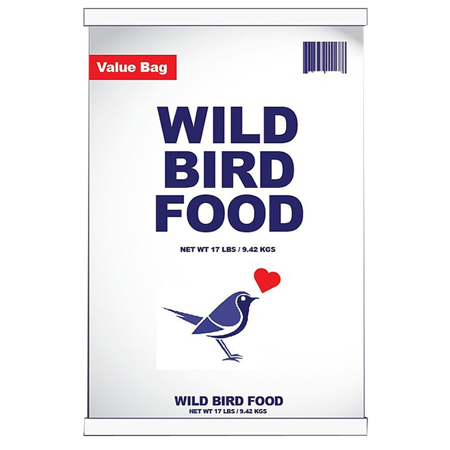 Value Bag Wild 17-lb Bird Seed Bag (Cracked Corn)