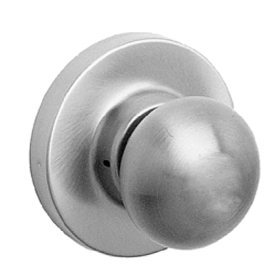 TELL MANUFACTURING, INC. Panic Trim Stainless Steel Round Passage Door Knob
