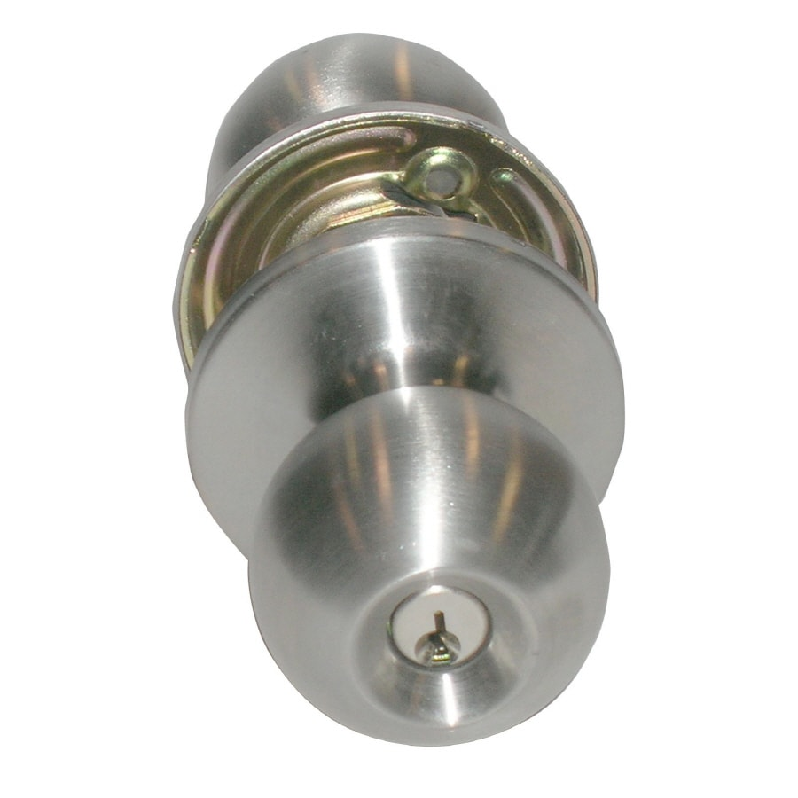 TELL MANUFACTURING, INC. Residential 32D Round Keyed Entry Door Knob