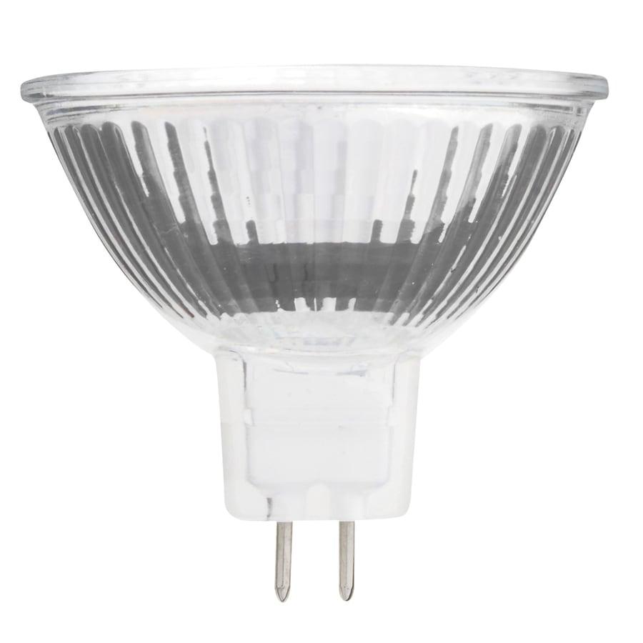shop kichler 20 watt dimmable warm white mr16 halogen landscape light bulb at lowes
