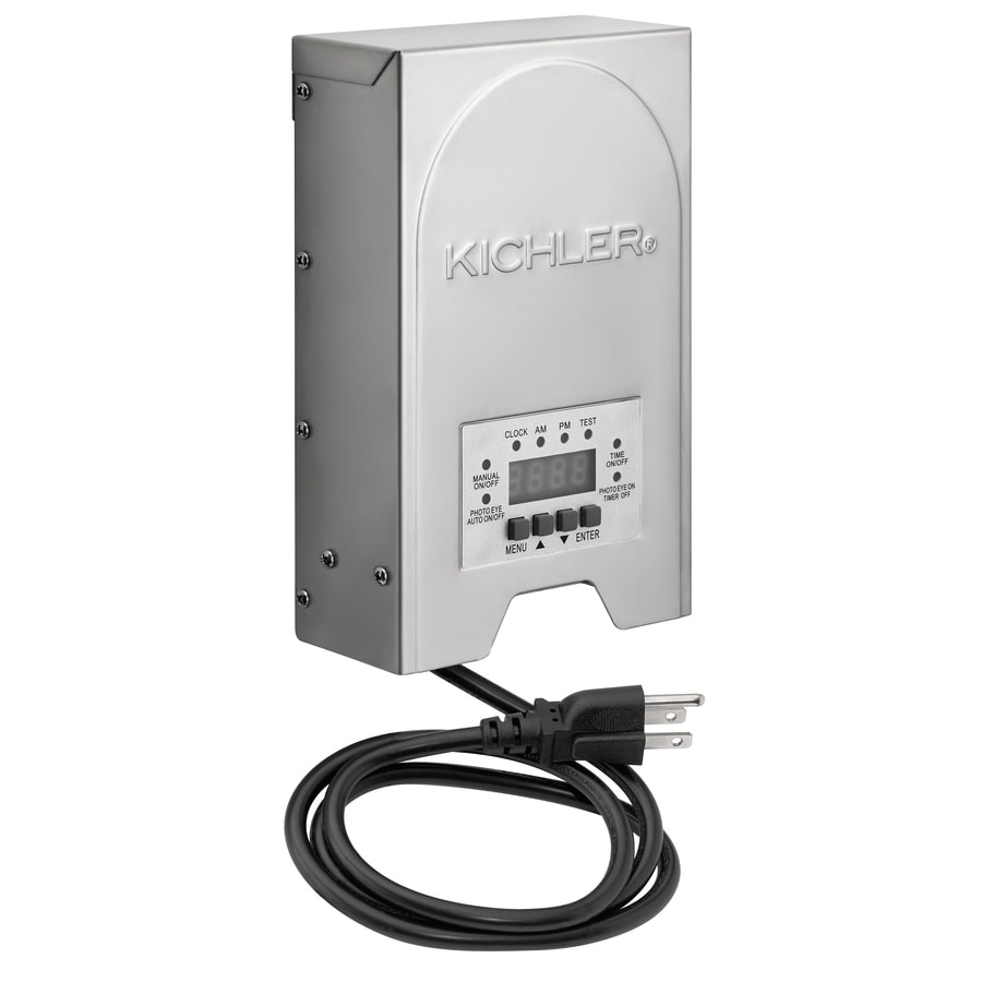 Shop kichler 200 watt 120 volt multi tap landscape lighting kichler 200 watt 120 volt multi tap landscape lighting transformer with with digital mozeypictures Images