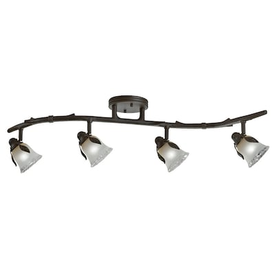 Branches 4 Light 33 12 In Olde Bronze Dimmable Track Bar Fixed Kit