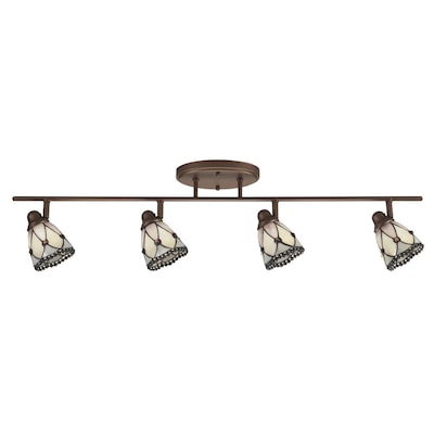 Portfolio 4 Light Bronze Traditional Track Lighting At Lowes