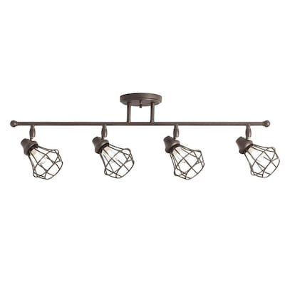 Bayley 4 Light 32 24 In Olde Bronze Dimmable Track Bar Fixed Kit