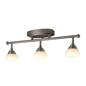 Pewter Fixed Track Lighting Kits At