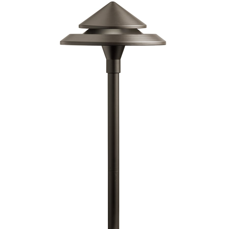 Volt Electric Landscape Lighting : Kichler watt olde bronze low voltage plug in led