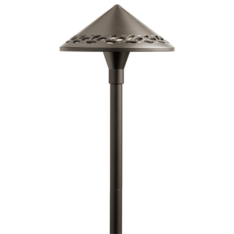 shop kichler 3 watt olde bronze low voltage plug in led