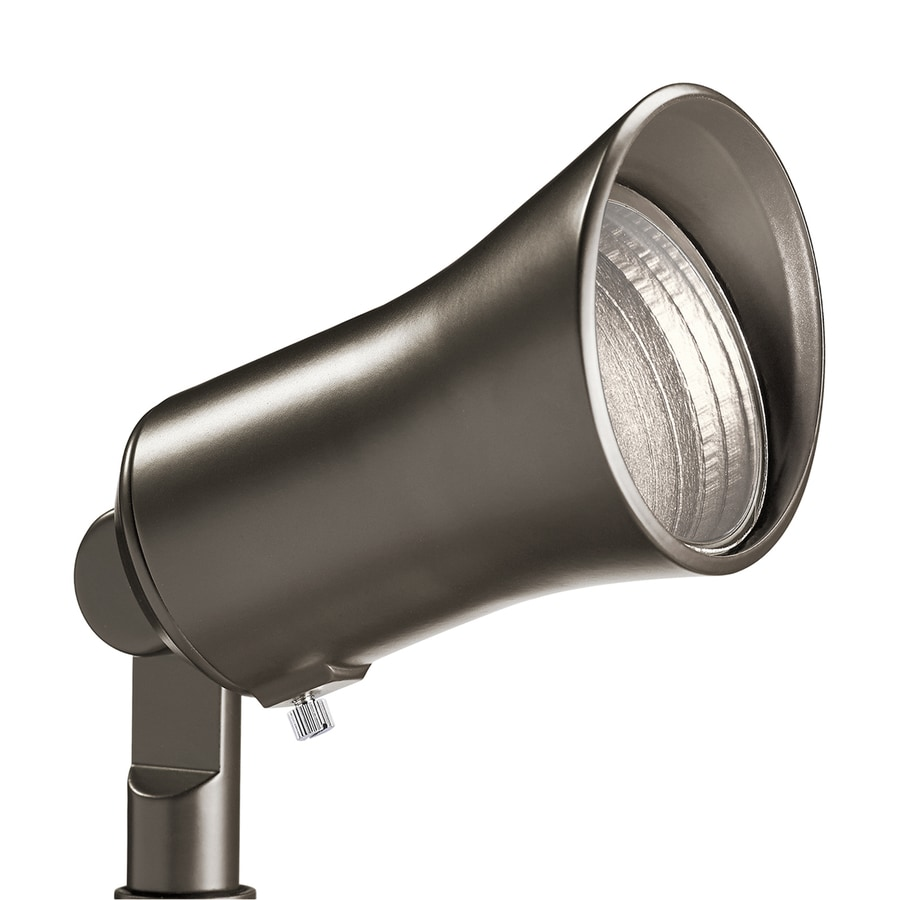Kichler 5-Watt (40 W Equivalent) Olde Bronze Low Voltage Plug-in LED Spot Light