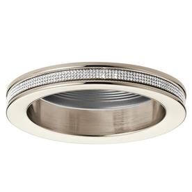 4 recessed light trim 5 inch kichler angelica polished nickel baffle recessed light trim fits housing diameter 4in at lowescom