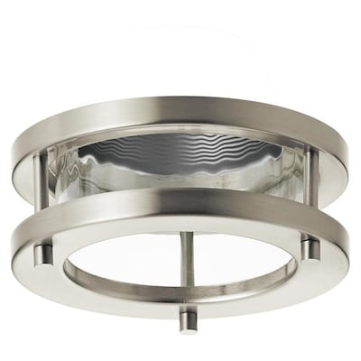 Marita Brushed Nickel With A Silver Baffle Recessed Light Trim Fits Housing Diameter 4 In