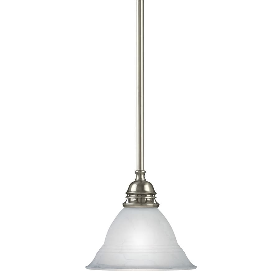 Portfolio Newport 7.5-in Antique Pewter Mini Pendant
