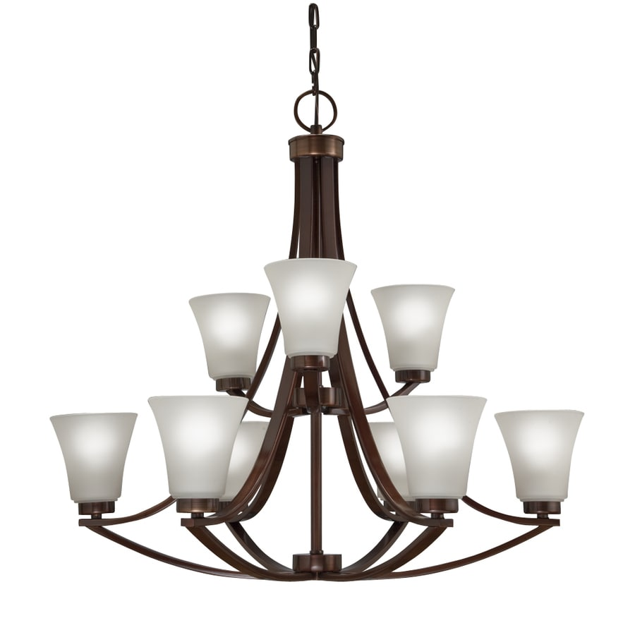 Westwood Collection Lyndsay 30-in 9-Light Light Oil Rubbed Bronze Chandelier