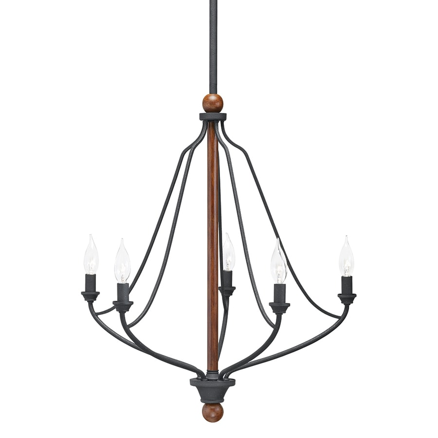 Kichler Lighting: Shop Kichler Lighting Carlotta 22.99-in 5-Light Distressed