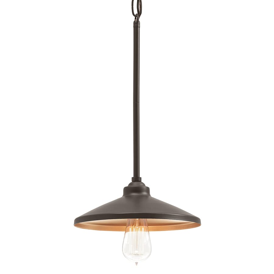 Shop Kichler Lighting Covington 10-in Olde Bronze Rustic