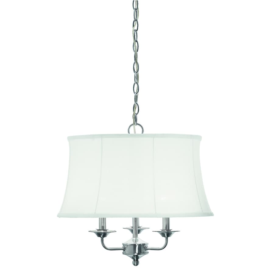 Kichler Rosemont 18.98-in Brushed Nickel Vintage Single Pendant