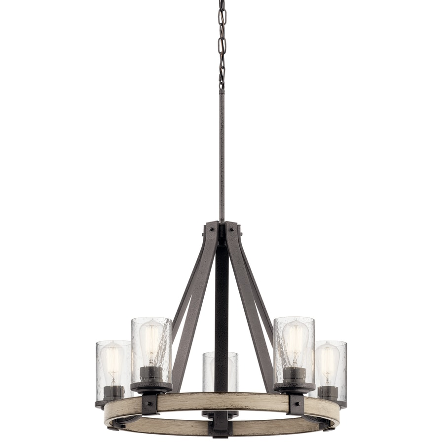 olde dp chandeliers bronze amazon com trail chandelier oak light kichler
