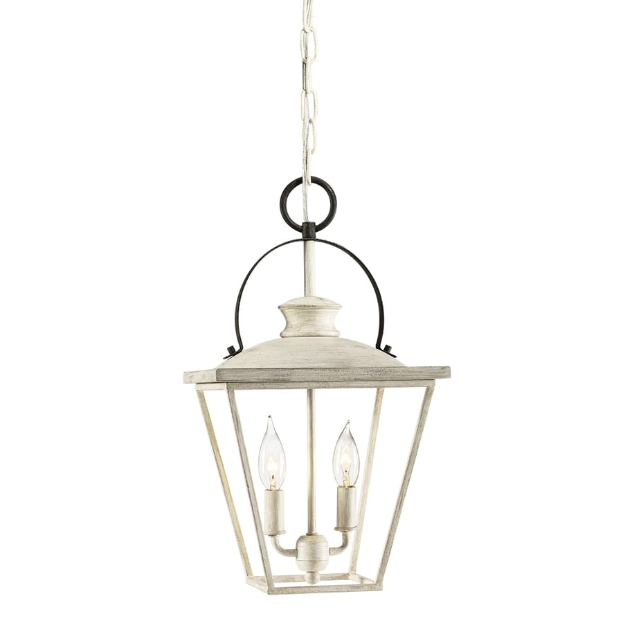 Kichler Arena Cove 10-in Country Cottage Hardwired Single Cage Pendant