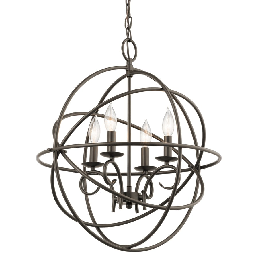 Kichler Vivian 4-Light Olde Bronze Traditional Globe