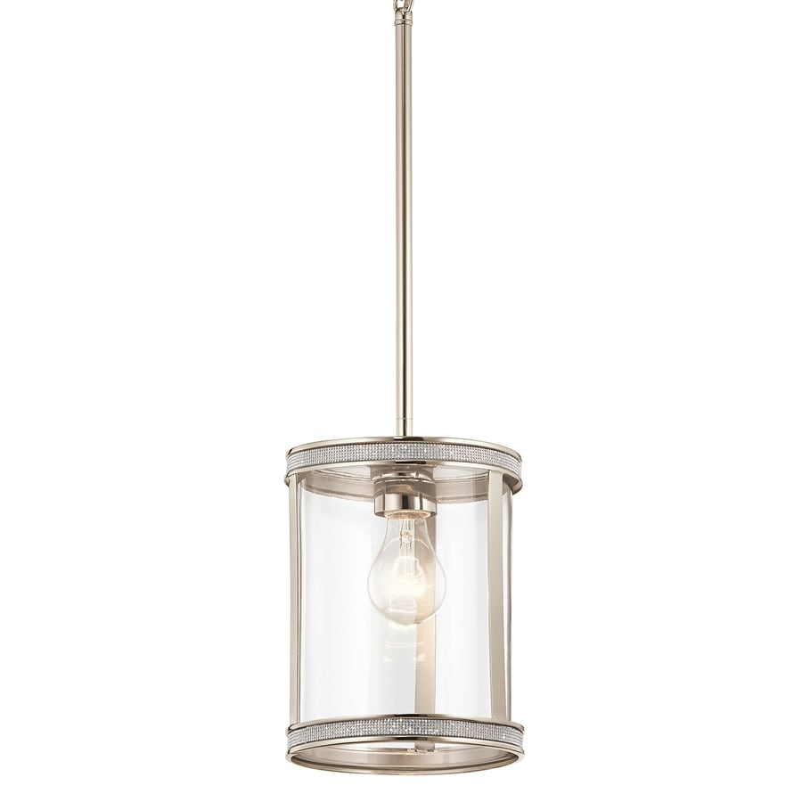 Shop Kichler Angelica Polished Nickel Industrial Mini