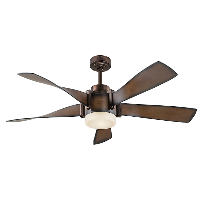 Led Indoor Ceiling Fan With Light Kit