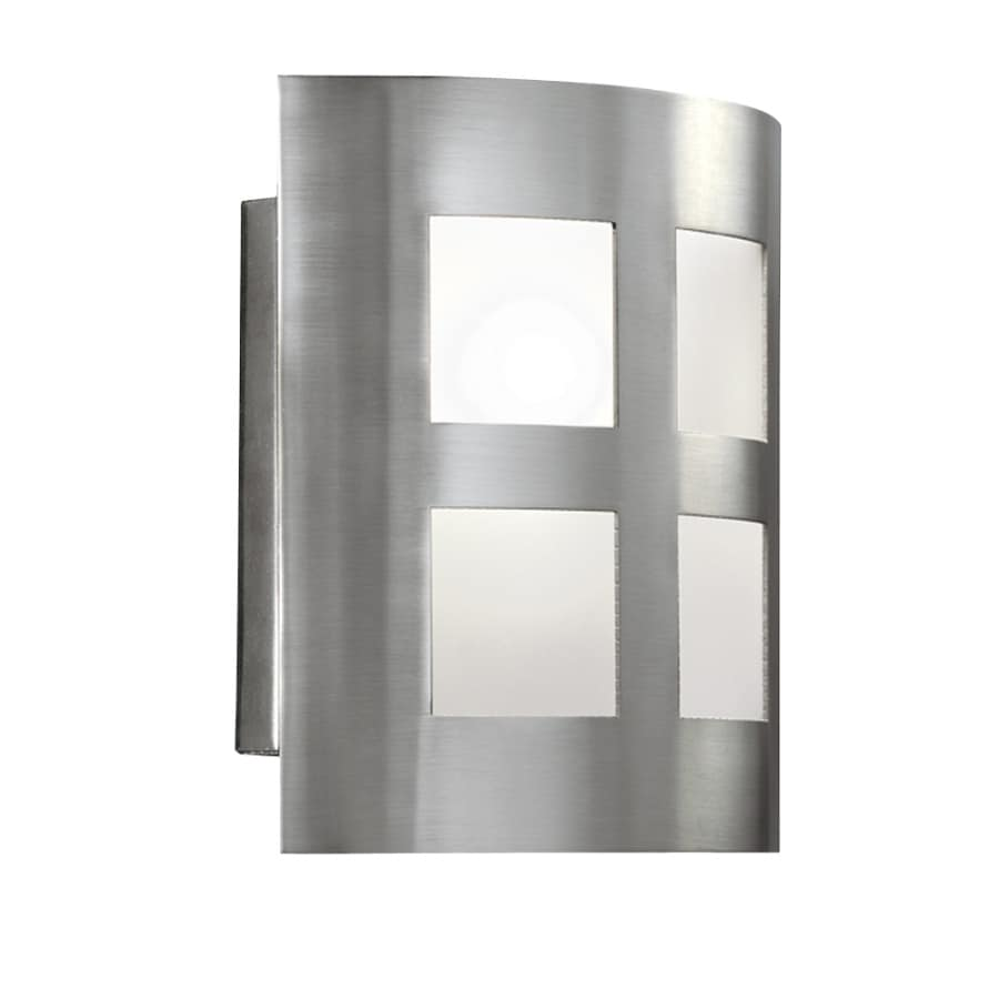 Portfolio 6.5-in W 1-Light Satin Nickel Pocket Wall Sconce