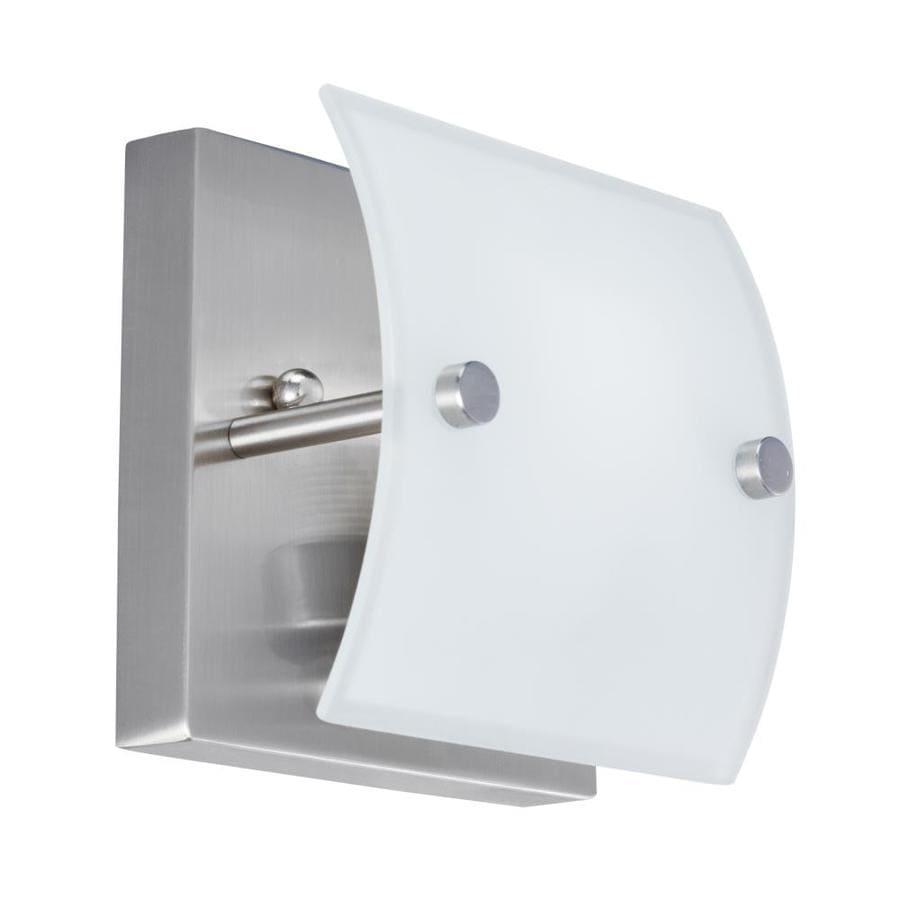Kichler Covero 1-Light 4.72-in Brushed nickel Square Vanity Light
