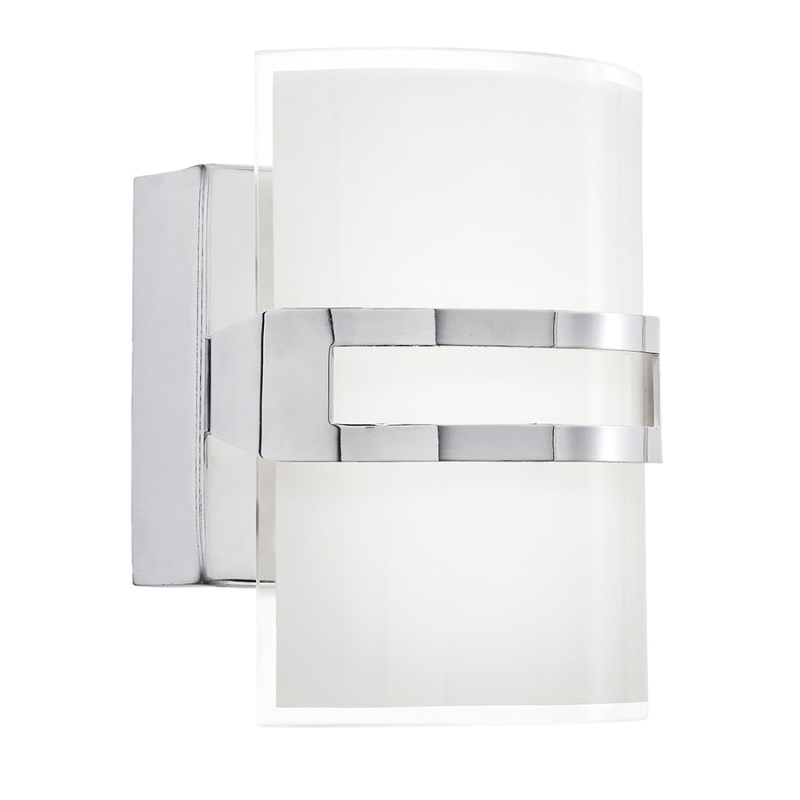 Kichler Lighting Deauville 1-Light Chrome Rectangle LED Vanity Light