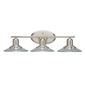Kichler Galileo 3-Light Nickel Modern/Contemporary Vanity Light