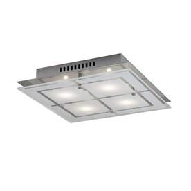 Kichler 11.75-in Chrome Modern/Contemporary integrated Led Flush Mount Light