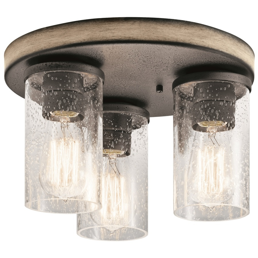 Kichler Barrington 11 5-in Flush Mount Light at Lowes com